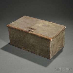 Greengraypainted Storage Box