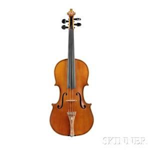 Modern American Violin Louis Ganara Torrington Connecticut 1954