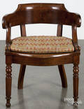 English cane seat armchair