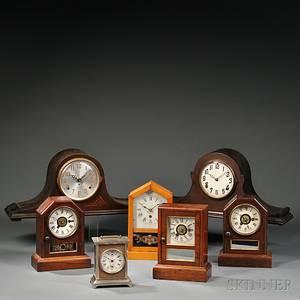 Seven Connecticut Shelf Clocks