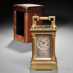 William Bond  Son Carriage Clock