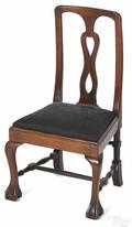 Georgian style mahogany childs chair 19th c