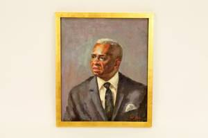 Dorothy Poole Oil on Canvas Male Bust Portrait
