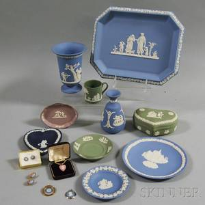 Seventeen Miscellaneous Wedgwood Items