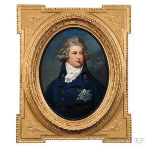 British School 18th19th Century George IV as The Prince of Wales