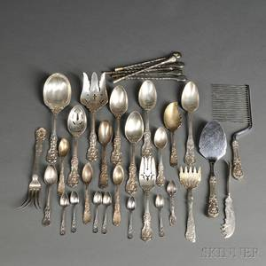 Assorted Group of Silver Flatware
