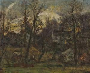 Charles Harold Davis American 18561933 Little Homes Twilight