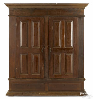 Pennsylvania walnut schrank ca 1790