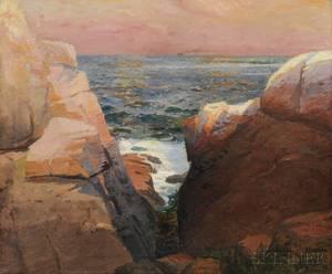Frank Knox Morton Rehn American 18481914 Rocky Coast