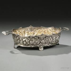 Victorian Sterling Silver Fruit Basket