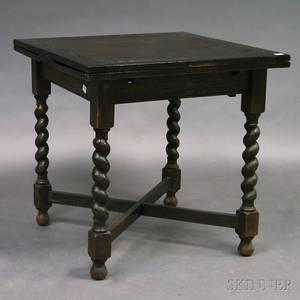 Darkstained Oak Table