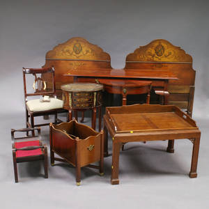 Large Group of Reproduction Furniture