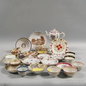 Assorted European and Chinese Export Porcelain Tableware