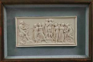 Framed Ceramic Wall Plaque