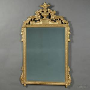 Neoclassicalstyle Giltwood Mirror