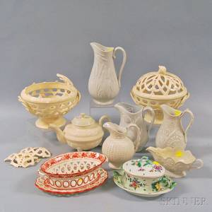 Group of English Ceramics