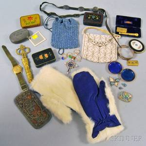 Group of Assorted Fashion Accessories and Costume Jewelry