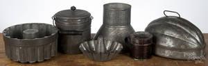 Tin kitchen items