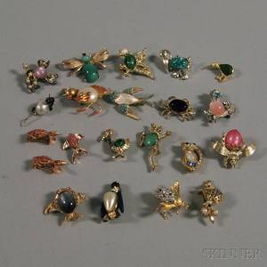 Small Group of Animal Costume Pins