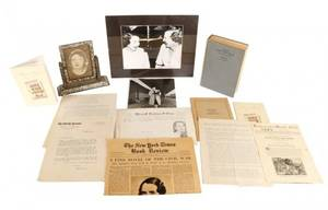Collection Of Margaret Mitchell Ephemera