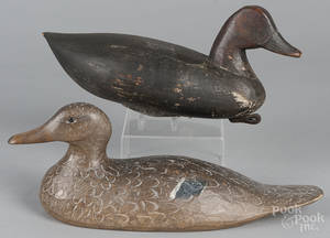 New Jersey carved and painted duck decoy