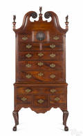 Philadelphia or Baltimore Chippendale walnut high chest ca 1765