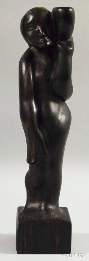 Contemporary Figural Wood Sculpture