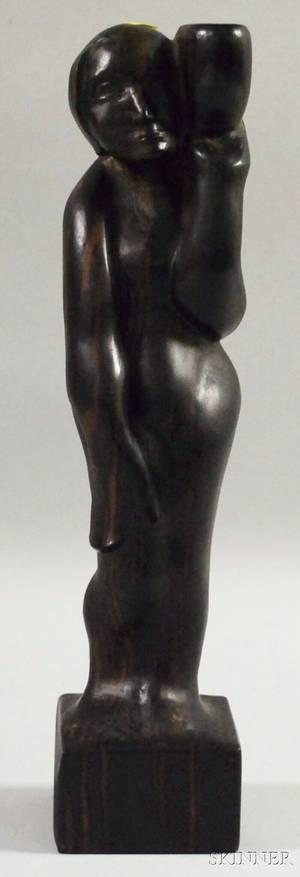 Contemporary Figural Wood Sculpture