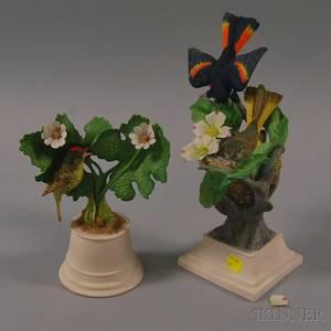 Two Boehm Porcelain Bird Figures