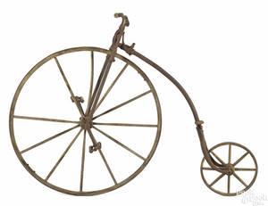 Otto childs high wheel bicycle late 19th c