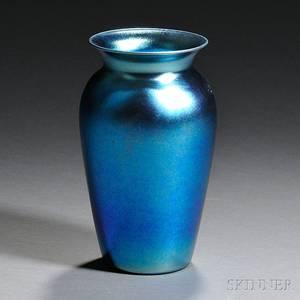 Durand Iridescent Glass Vase