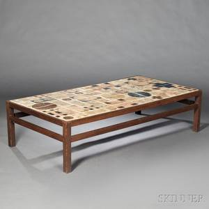 MidCentury Modern Tiletop Coffee Table