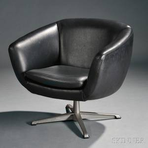 Early Pod Chair Attributed to George Mulhauser Jr 19222002 for Overman