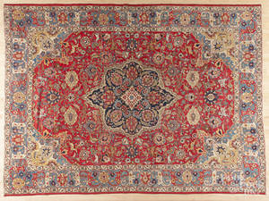 Semiantique Tabriz carpet