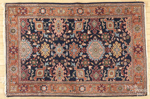 Contemporary throw rug