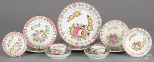 Queens and Kings rose pearlware