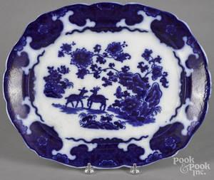 Flow blue Cashmere platter