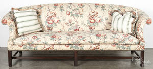 Kittinger Chippendale style mahogany sofa