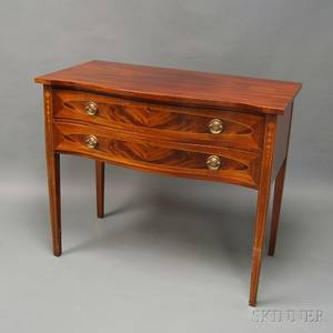 Federalstyle Inlaid Mahogany Server