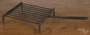 Wrought iron gridiron