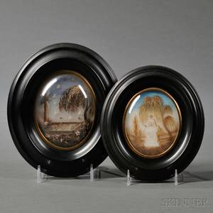 Two Framed Miniature Memorials