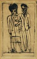 Raymond Chavoya American b 1929 Sophisticates
