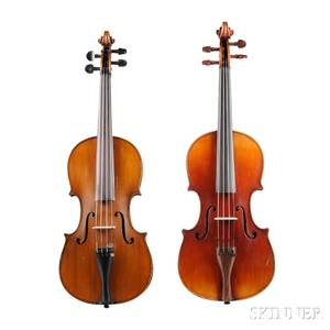 Two German Violins
