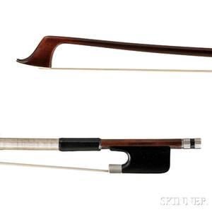 Silvermounted Cello Bow