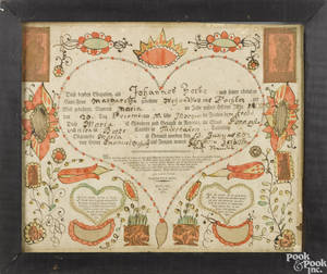 Friedrich Krebs Southeastern Pennsylvania 17491815