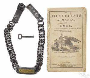 Forged iron collar mid 19th c