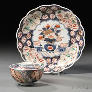 Two Imari Ware Items