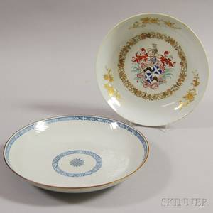 Two Export Ceramic Dishes