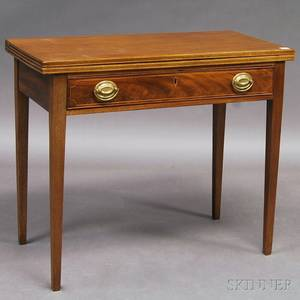 George IIIstyle Mahogany Gateleg Games Table