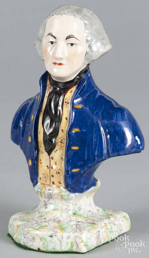 Staffordshire bust of George Washington